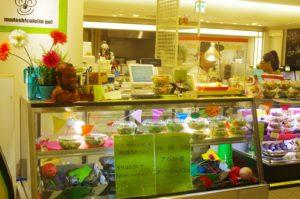 ヒカリエ出店のときの売店スペースです。