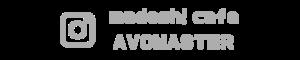 アボマスターのインスタグラム紹介ロゴ