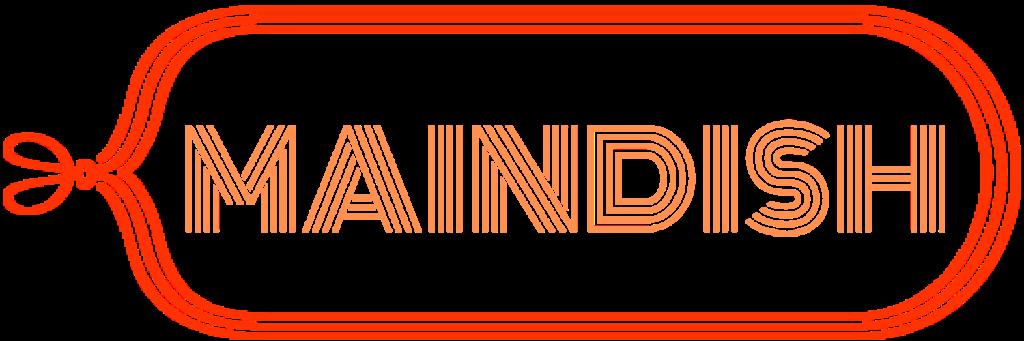 メインディッシュメニューのロゴです。